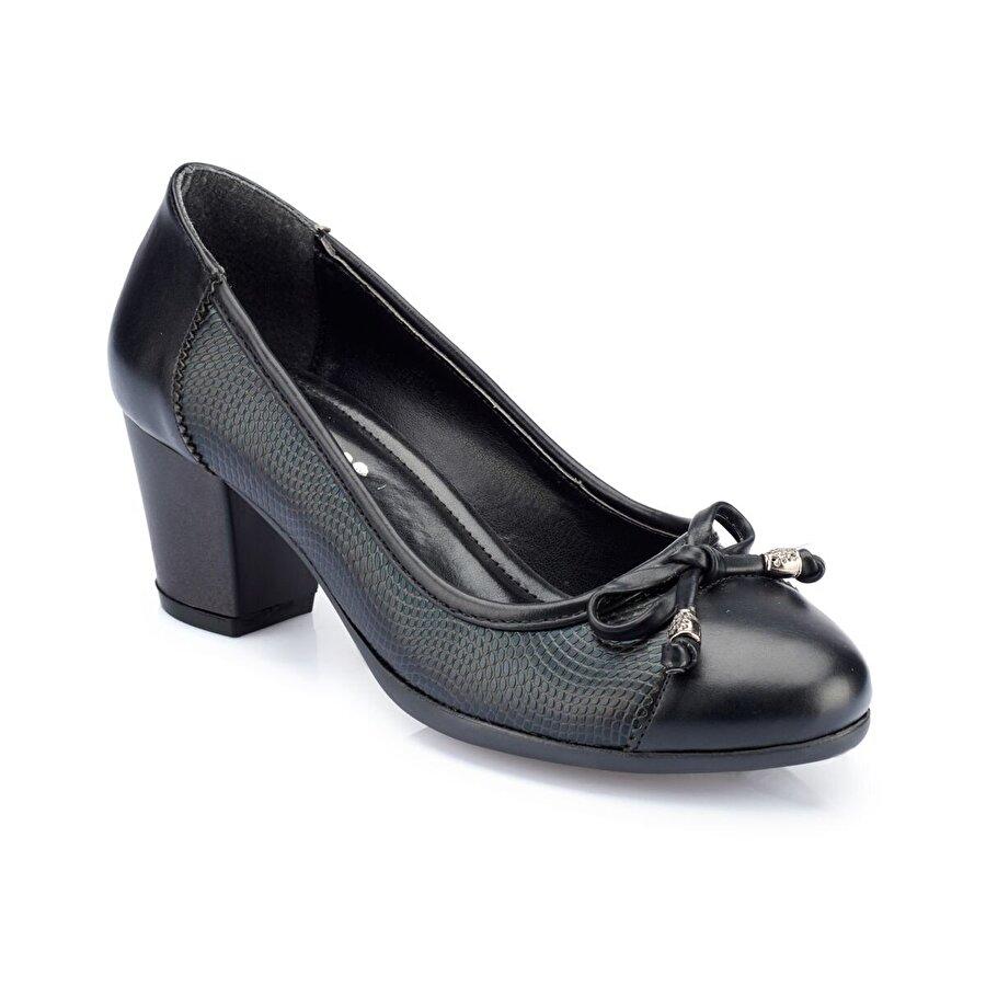 Polaris 82.312088.Z Siyah Kadın Gova Ayakkabı
