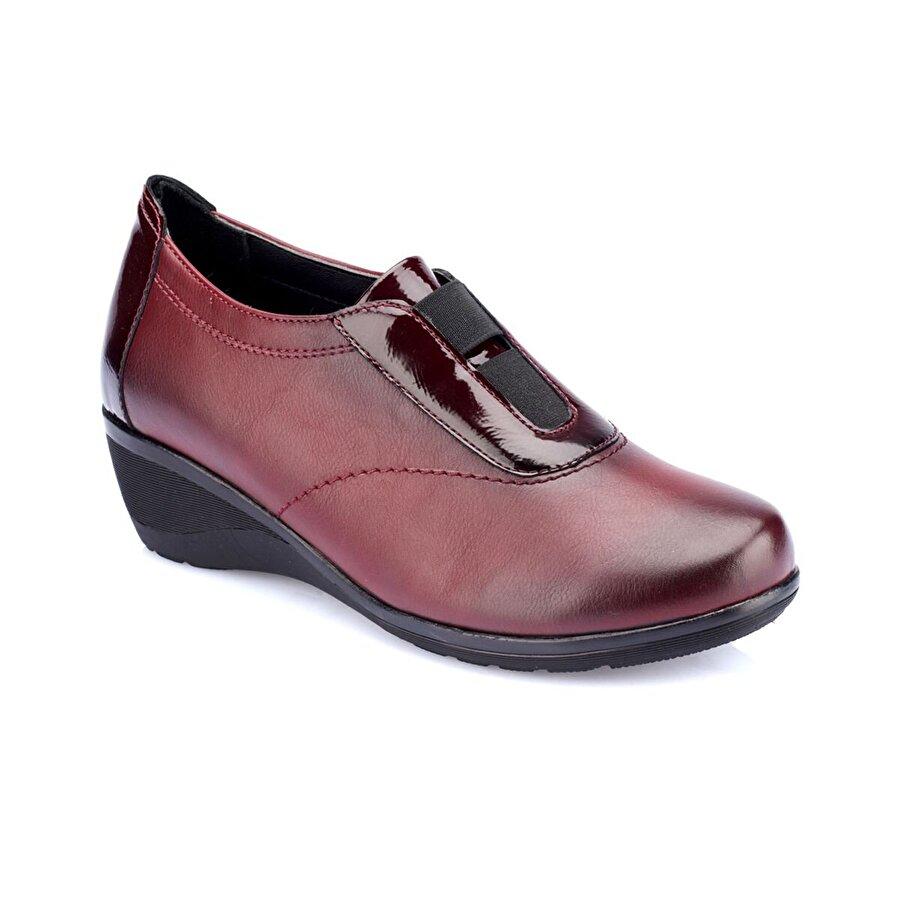 Polaris 82.150082RZ Bordo Kadın Ayakkabı