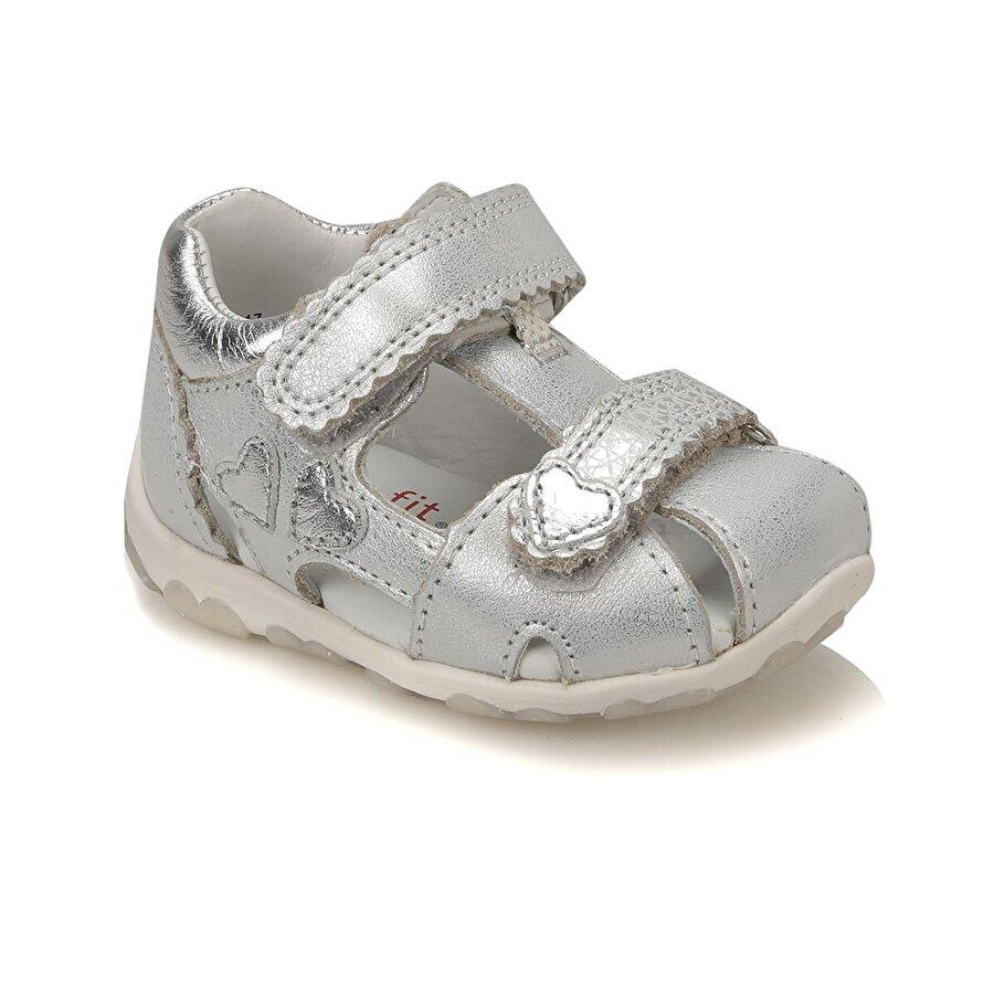 Superfit 2-00038-17 BK Gümüş Kız Çocuk Sandalet