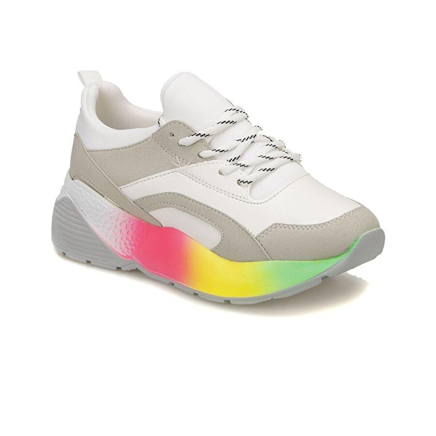 Butigo 18S-820 Beyaz Kadın Spor Ayakkabı