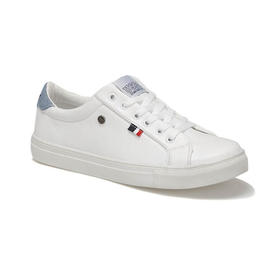 U.S. Polo Assn. RONINA Beyaz Kadın Ayakkabı