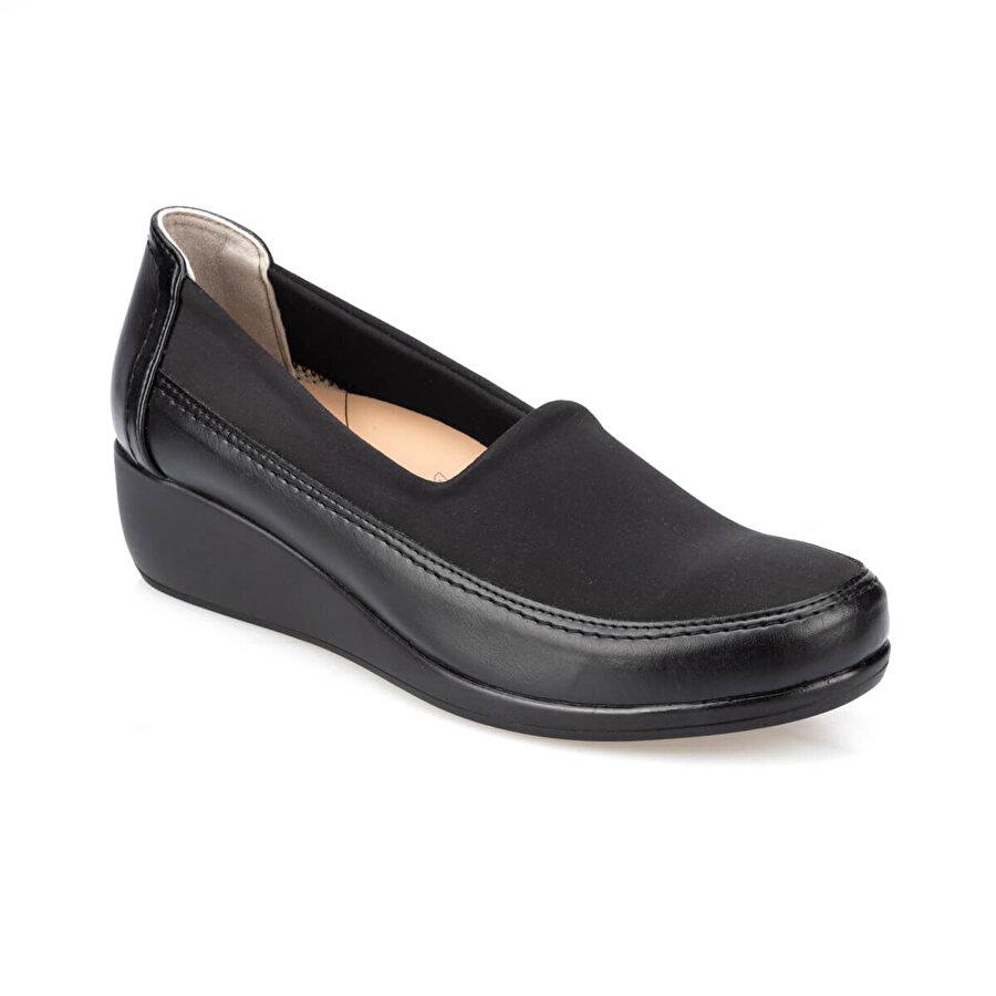 Polaris 5 Nokta 91.111029.Z Siyah Kadın Comfort Ayakkabı