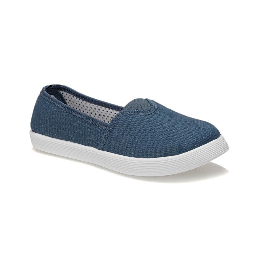 Polaris 91.311594.Z Mavi Kadın Slip On Ayakkabı