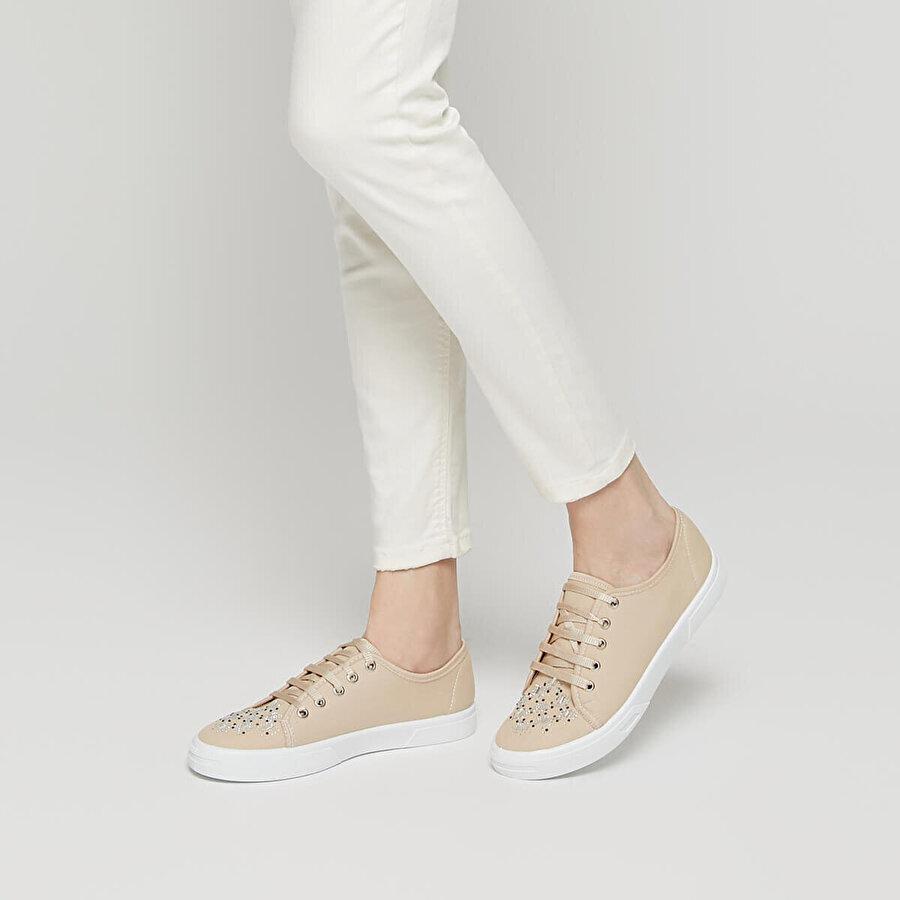 Polaris 91.311604.Z Bej Kadın Sneaker Ayakkabı