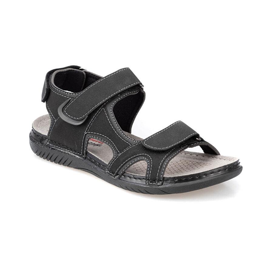 Polaris 91.150579.M Siyah Erkek Sandalet