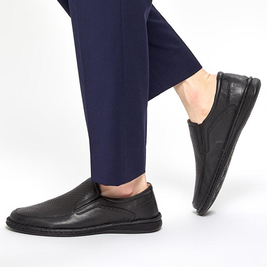 Polaris 5 Nokta 91.100536.M Siyah Erkek Comfort Ayakkabı