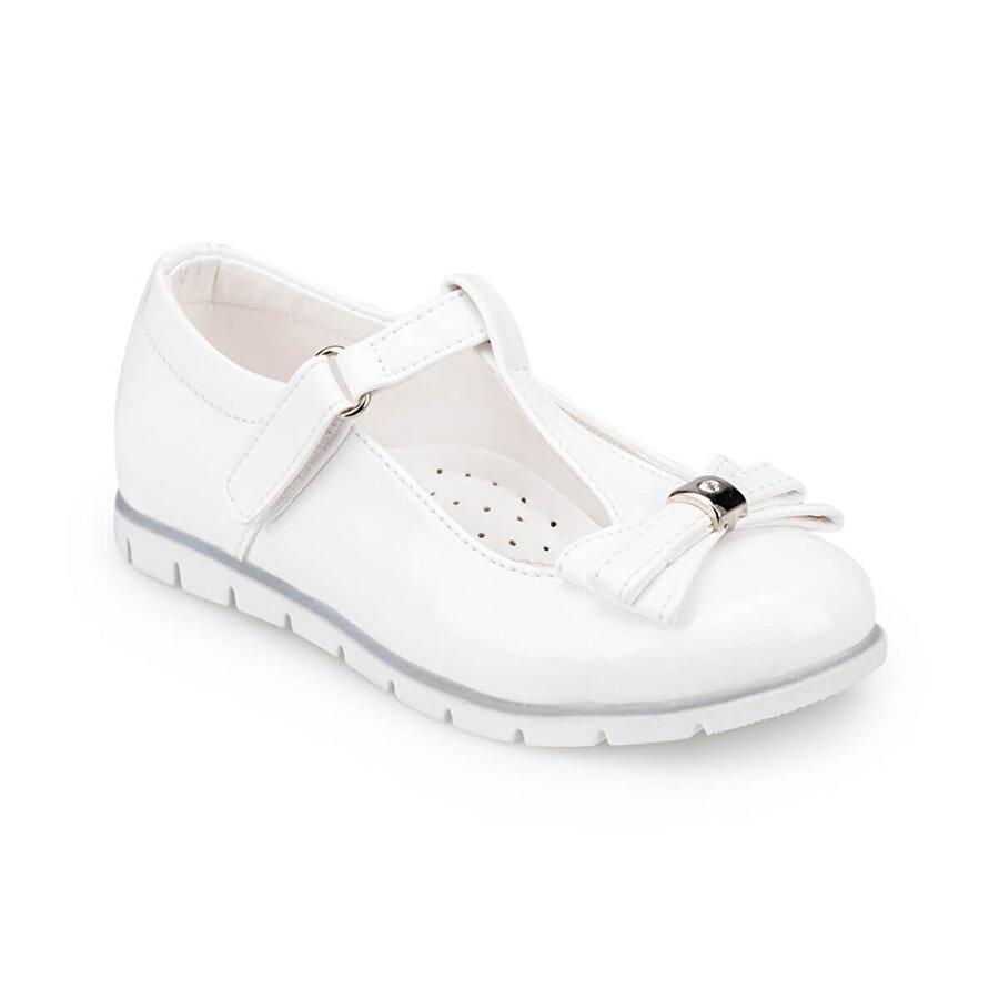 Polaris 91.510082.P Beyaz Kız Çocuk Babet