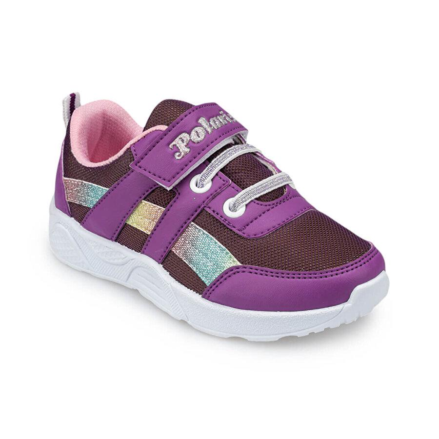 Polaris 91.511300.P Mor Kız Çocuk Ayakkabı