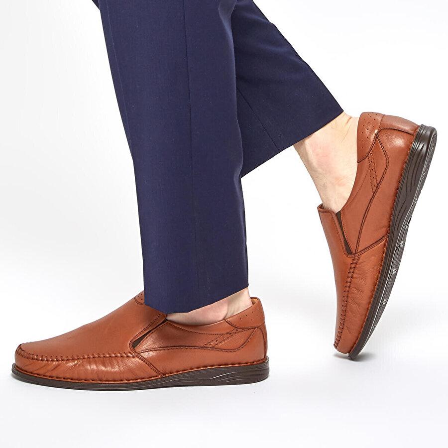 Polaris 5 Nokta 91.105517.M Taba Erkek Comfort Ayakkabı