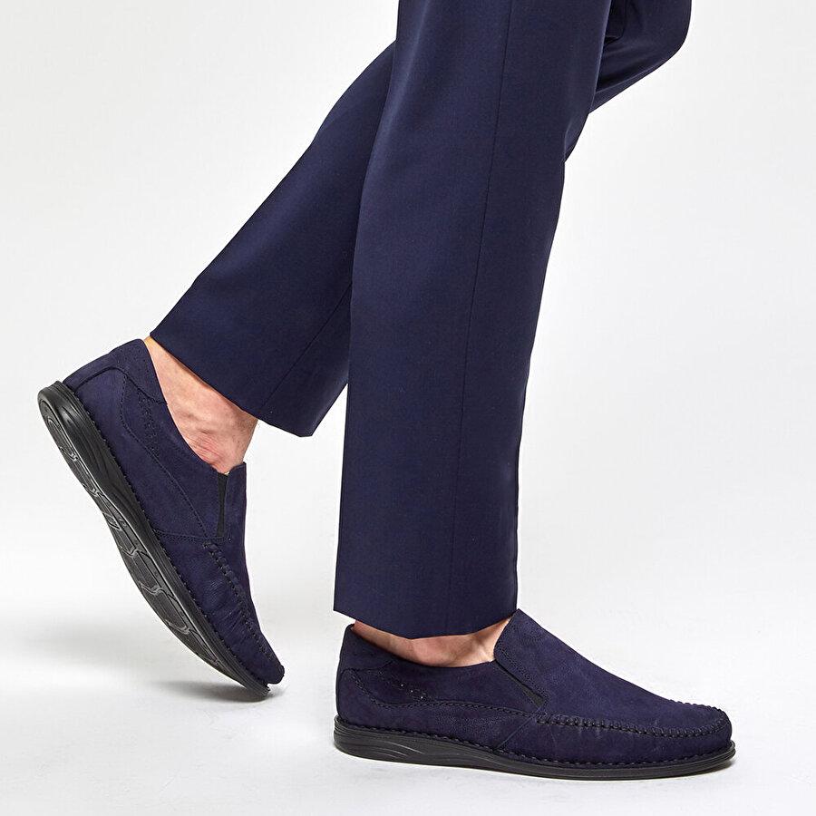 Polaris 5 Nokta 91.105517NM Lacivert Erkek Klasik Ayakkabı