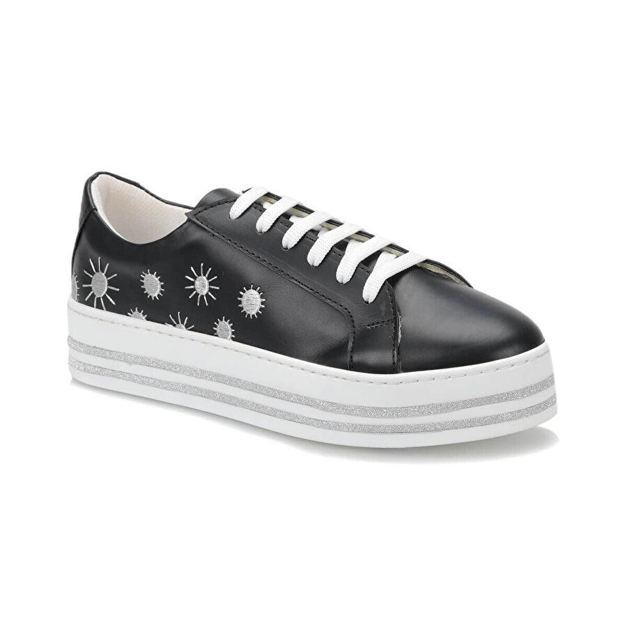 Butigo 19S-151 Siyah Kadın Sneaker Ayakkabı