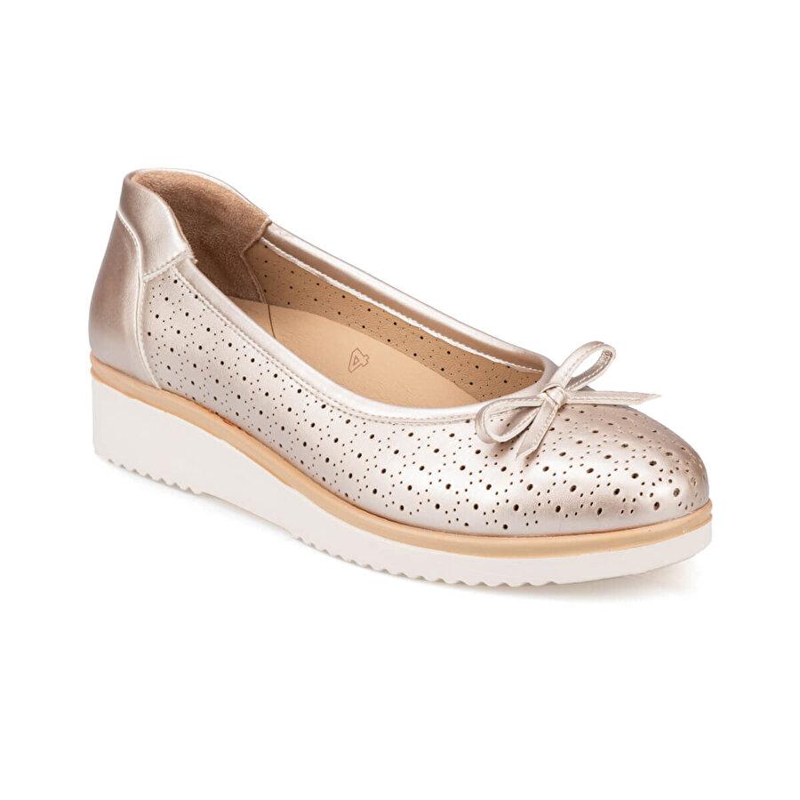 Polaris 5 Nokta 91.100670.Z Altın Kadın Ayakkabı