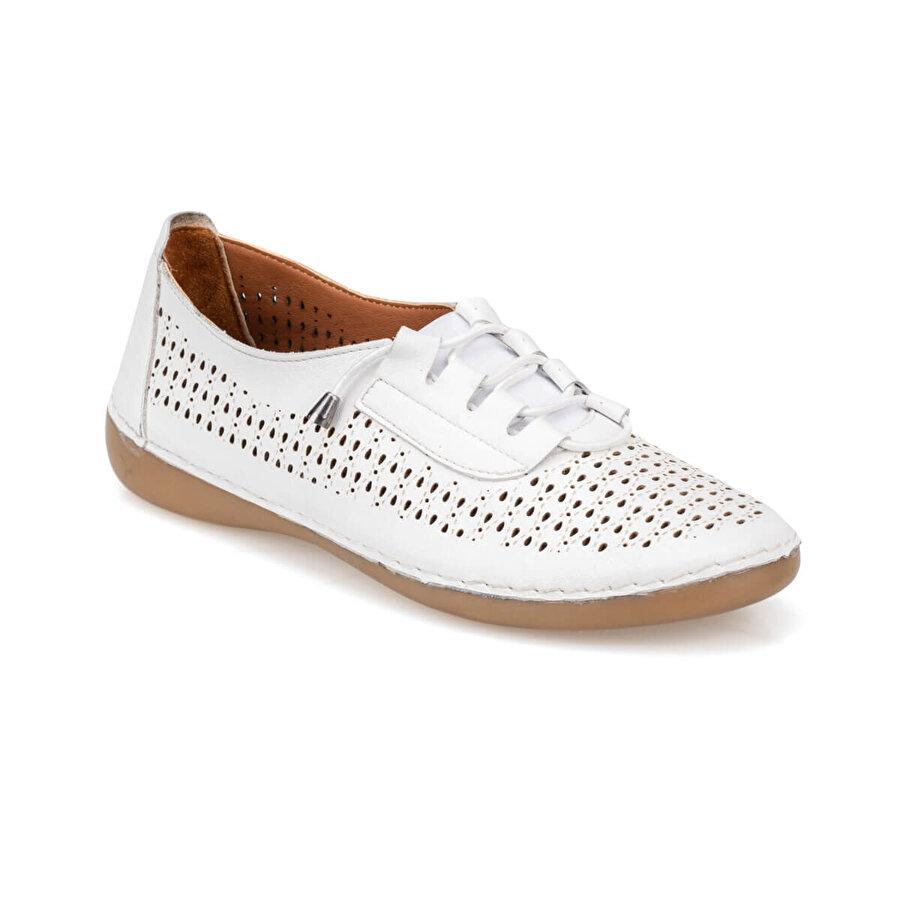 Polaris 5 Nokta 91.100660.Z Beyaz Kadın Ayakkabı