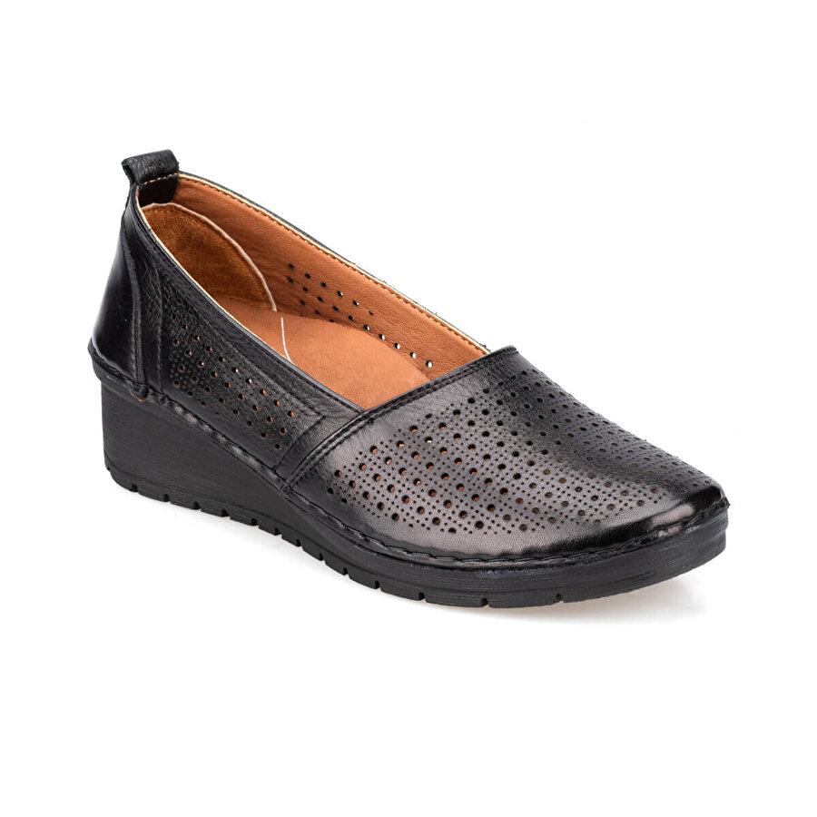 Polaris 5 Nokta 91.100674.Z Siyah Kadın Ayakkabı