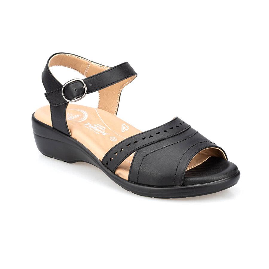 Polaris 5 Nokta 91.100724.Z Siyah Kadın Sandalet