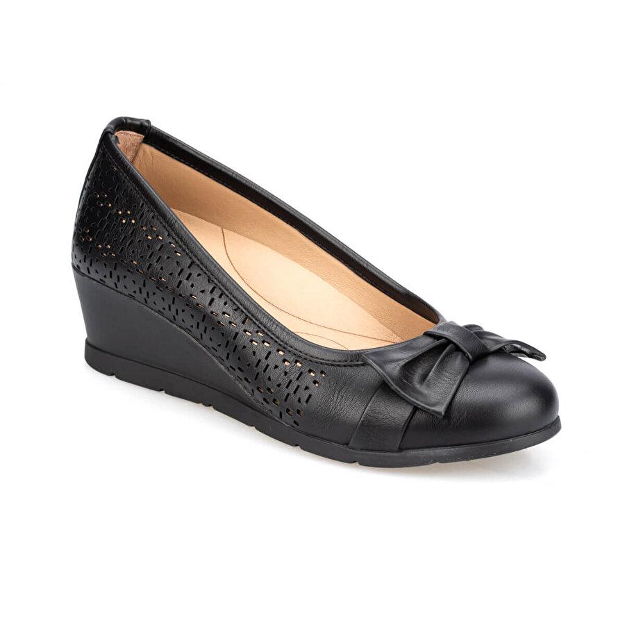 Polaris 5 Nokta 91.100655.Z Siyah Kadın Ayakkabı