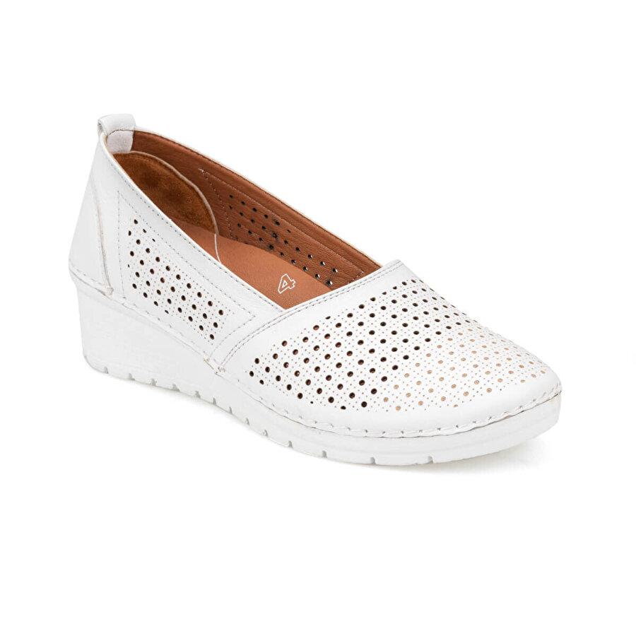 Polaris 5 Nokta 91.100674.Z Beyaz Kadın Ayakkabı