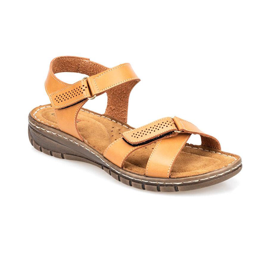 Polaris 91.150768.Z Camel Kadın Sandalet