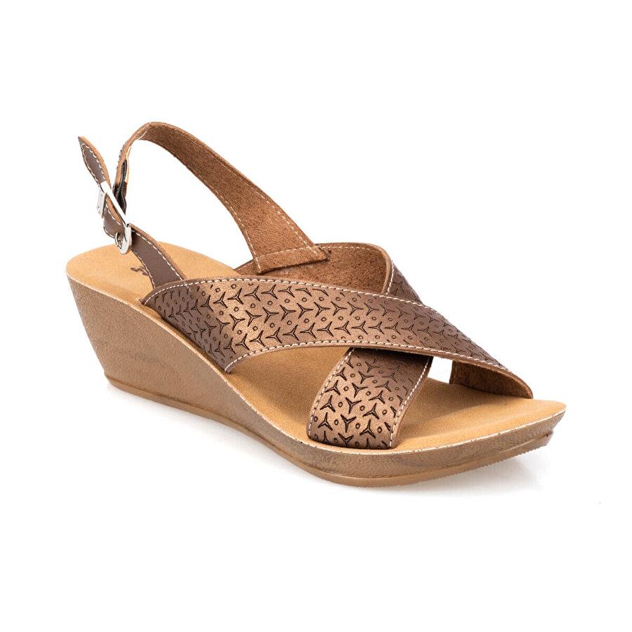 Polaris 91.150765.Z Bronz Kadın Sandalet