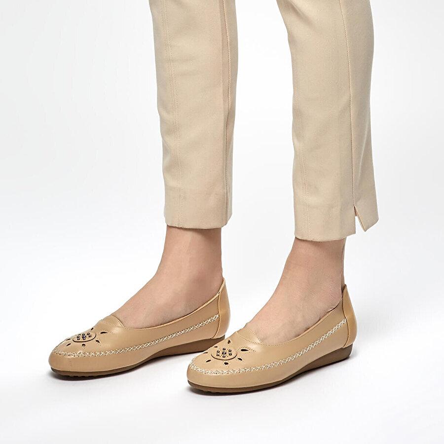 Polaris 91.150685.Z Bej Kadın Ayakkabı