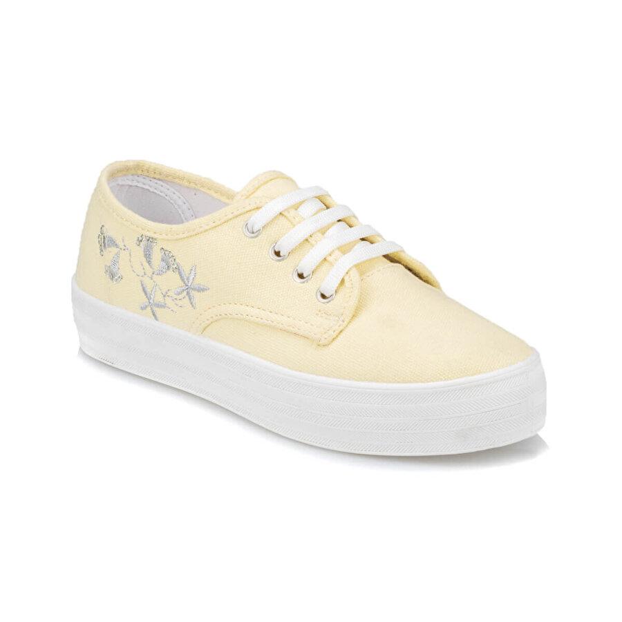 Polaris 91.313367.Z Sarı Kadın Sneaker Ayakkabı
