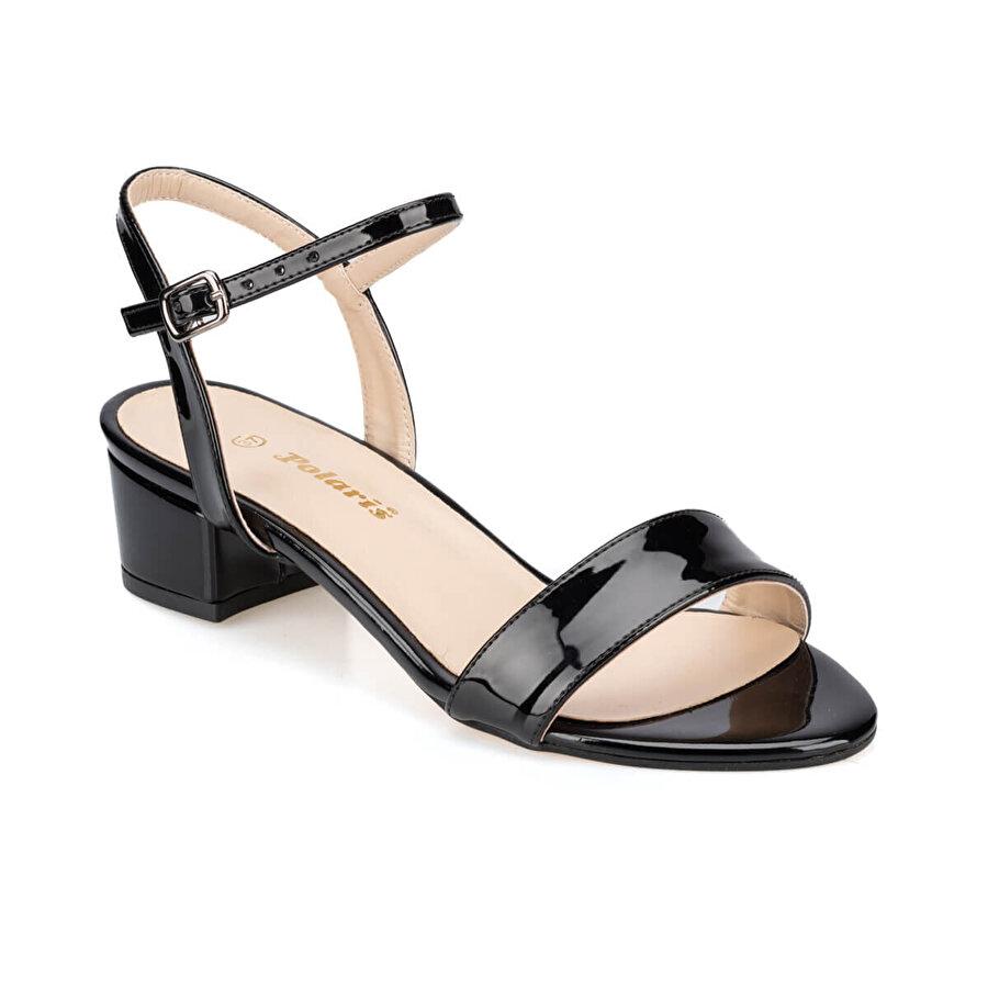 Polaris 91.313194.Z Siyah Kadın Sandalet