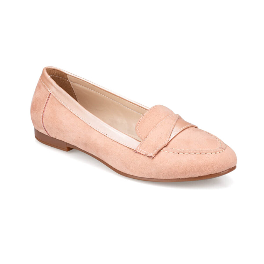 Polaris 91.313048SZ Somon Kadın Loafer Ayakkabı