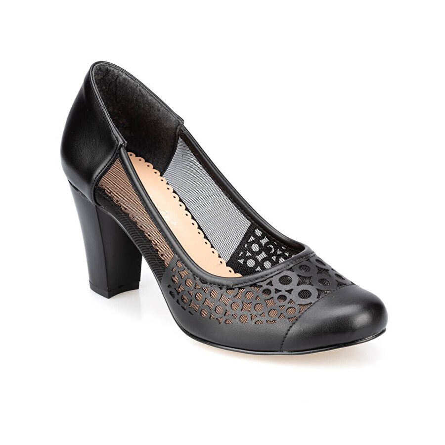 Polaris 91.313107.Z Siyah Kadın Gova Ayakkabı