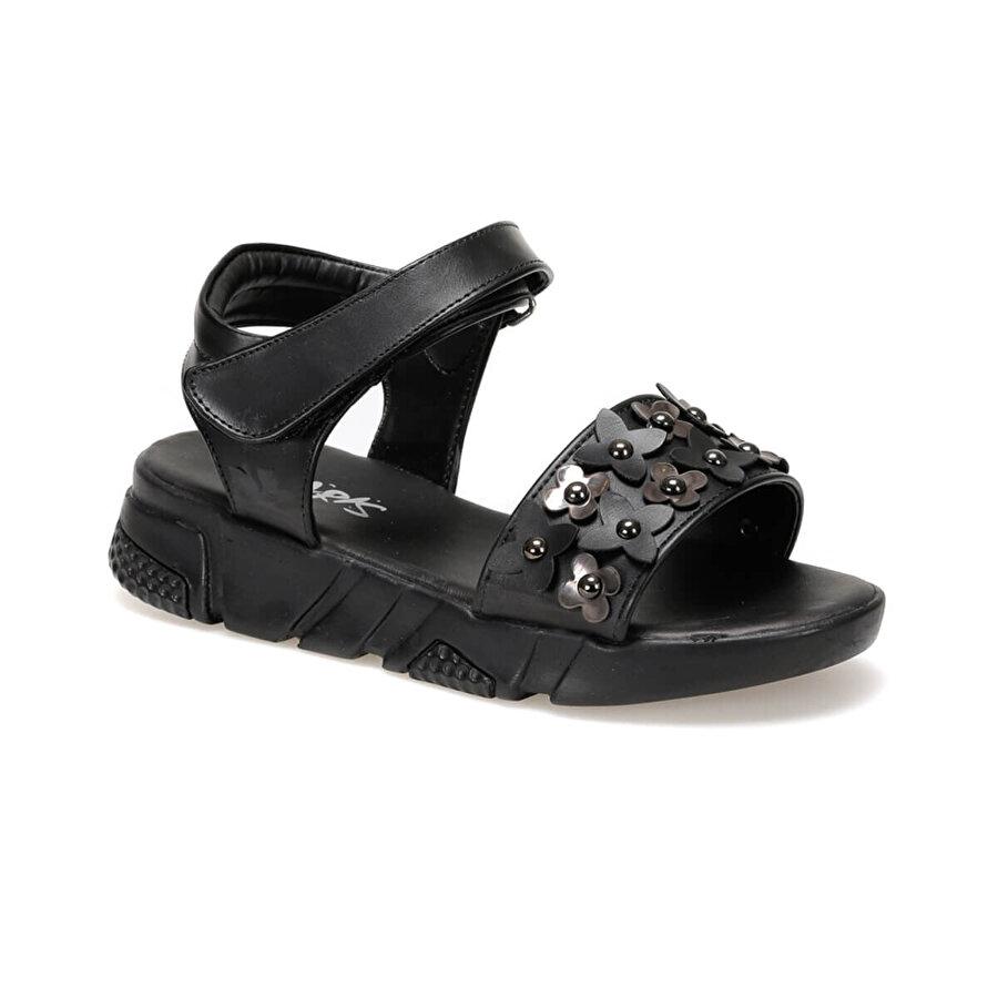 Polaris 91.511264.F Siyah Kız Çocuk Sandalet
