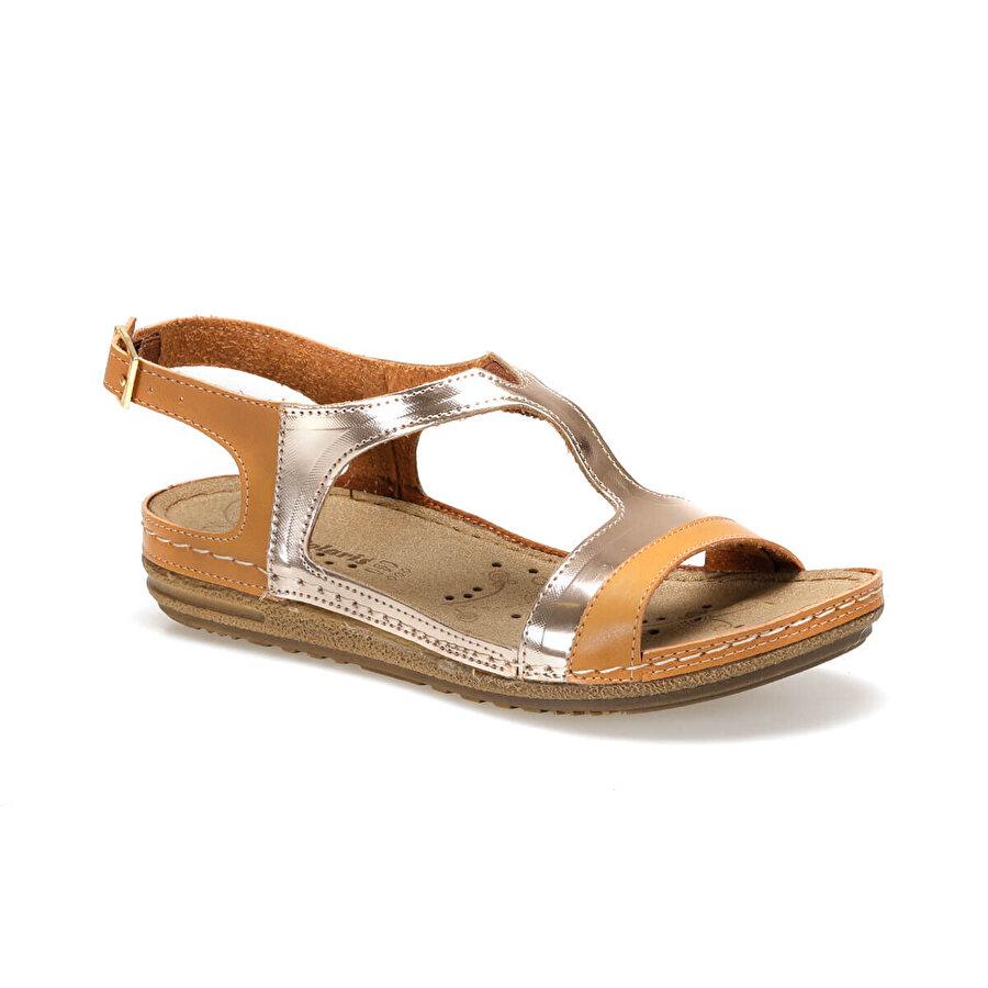 Polaris 91.158551.Z Camel Kadın Sandalet