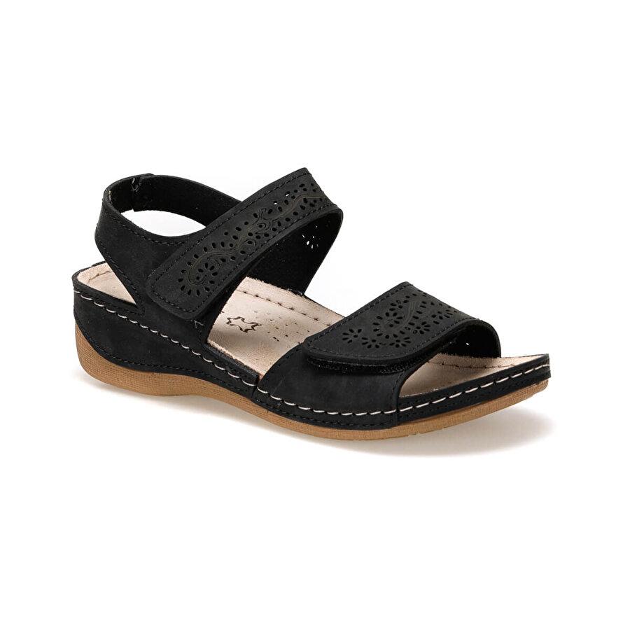Polaris 91.157359.Z Siyah Kadın Sandalet