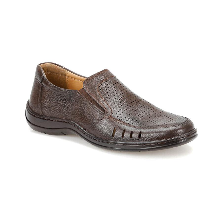 Flogart MDS-11 Kahverengi Erkek Comfort Ayakkabı