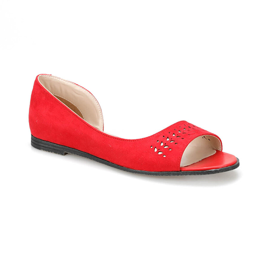 Miss F DS19024S Kırmızı Kadın Babet