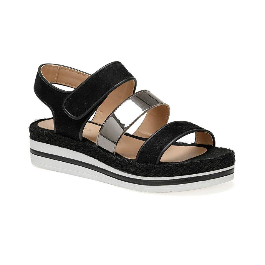 Art Bella CS19130 Siyah Kadın Sandalet