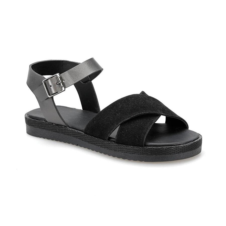 Art Bella CS19143 Siyah Kadın Sandalet