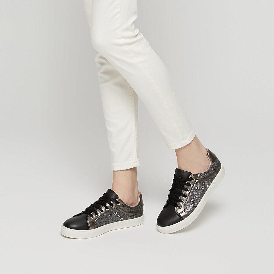 Art Bella CS19055 Siyah Kadın Sneaker Ayakkabı