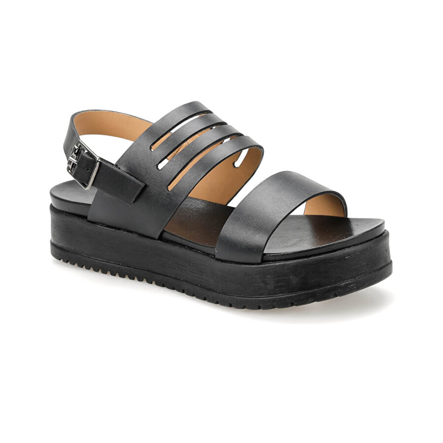 Butigo CS19128 Siyah Kadın Sandalet