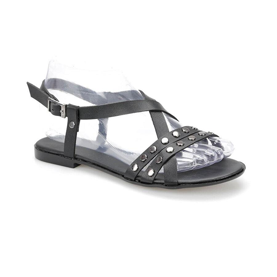 Art Bella CS19112 Siyah Kadın Sandalet