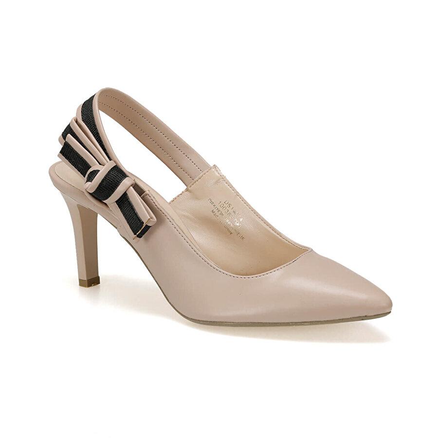 Miss F DS19074 Bej Kadın Gova Ayakkabı