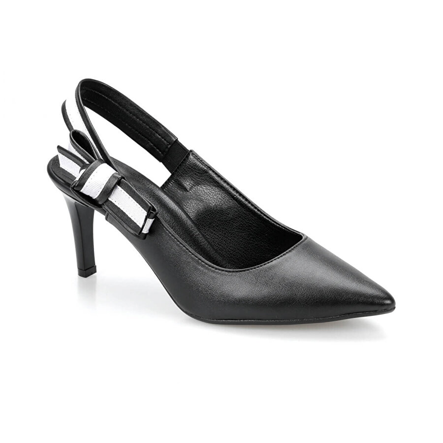 Miss F DS19074 Siyah Kadın Gova Ayakkabı