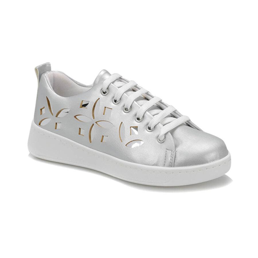 Butigo CS19071 Gümüş Kadın Sneaker Ayakkabı