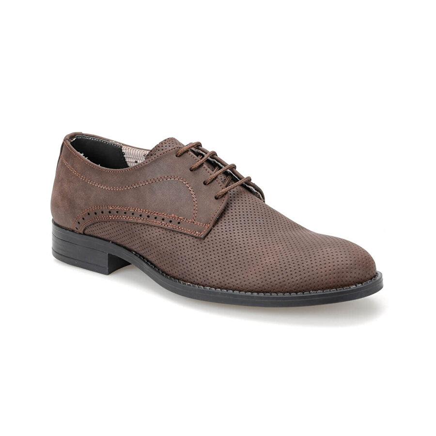 Down Town DT-04 Kahverengi Erkek Klasik Ayakkabı