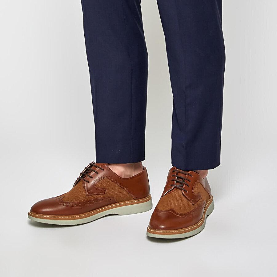 JJ-Stiller 85133-4 Taba Erkek Ayakkabı