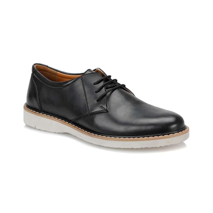 JJ-Stiller 7416-8 Siyah Erkek Ayakkabı