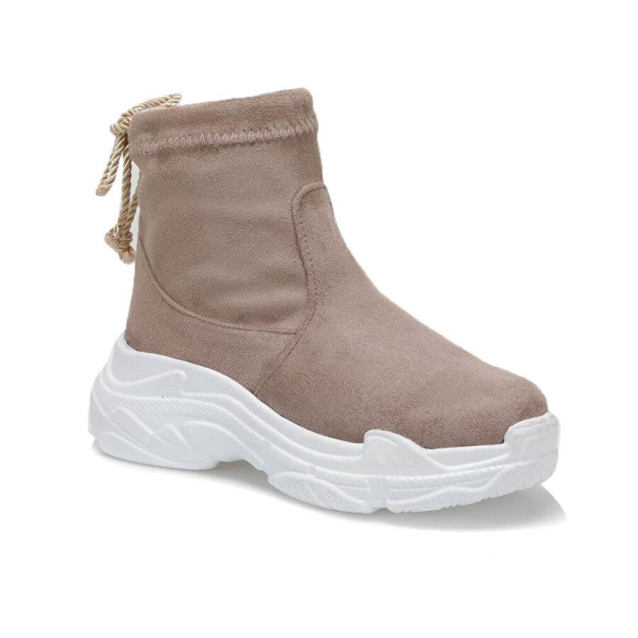 Butigo RIHANNA K11Z SÜET Vizon Kadın Sneaker Ayakkabı