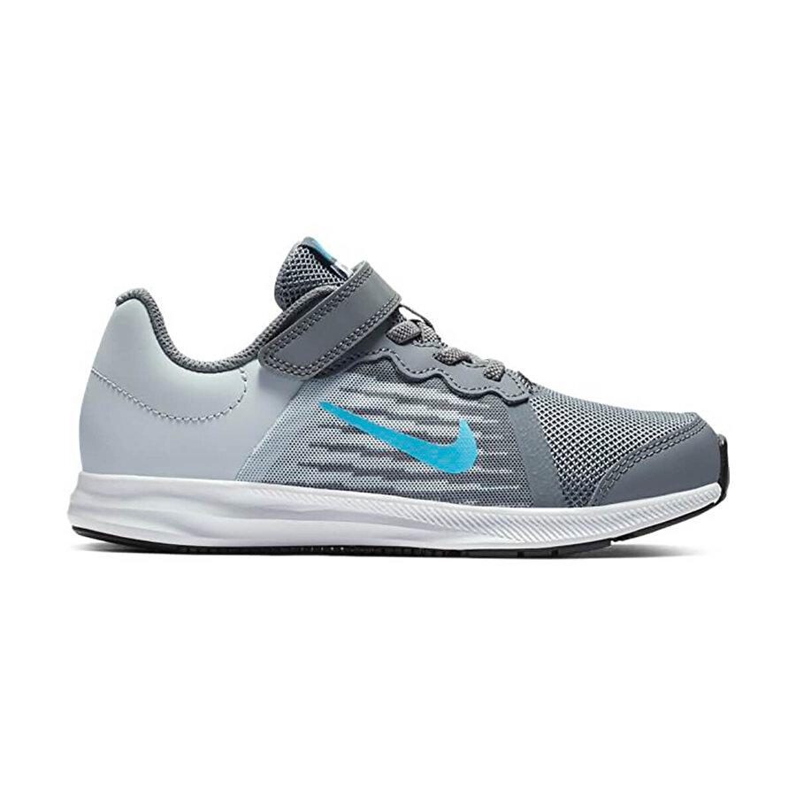Nike DOWNSHIFTER 8 (PSV) Gri Erkek Çocuk Koşu Ayakkabısı