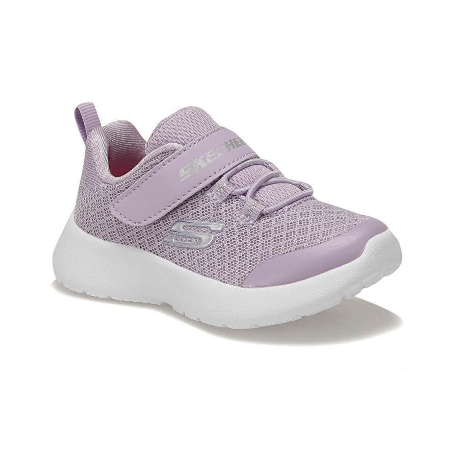Skechers DYNAMIGHT - RALLY RACER Mor Kız Çocuk Yürüyüş Ayakkabısı