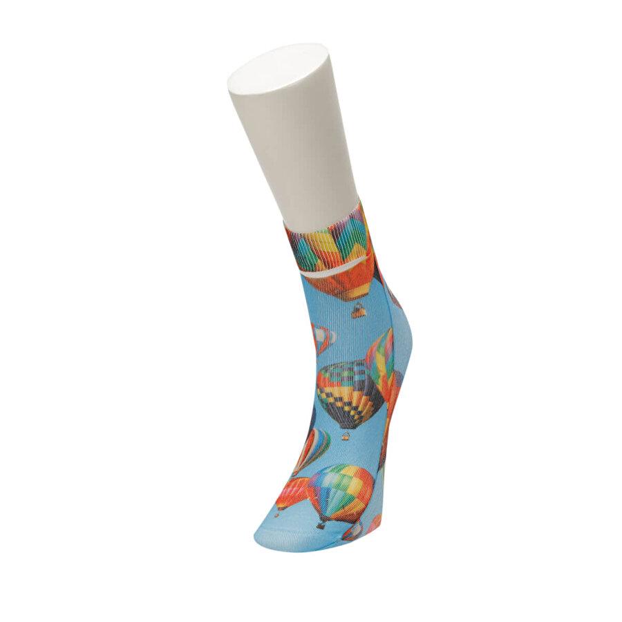 Fiyaka FYK 55 98Z Çok Renkli Kadın Çorap