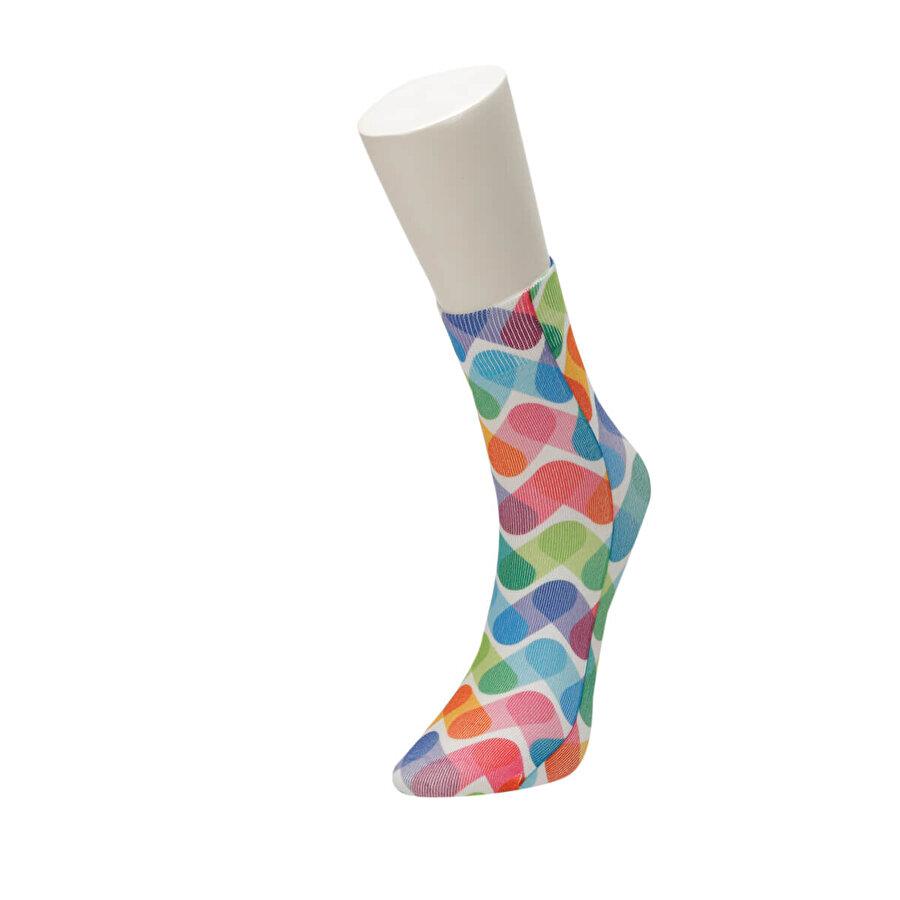 Fiyaka FYK 56 98Z Çok Renkli Kadın Çorap