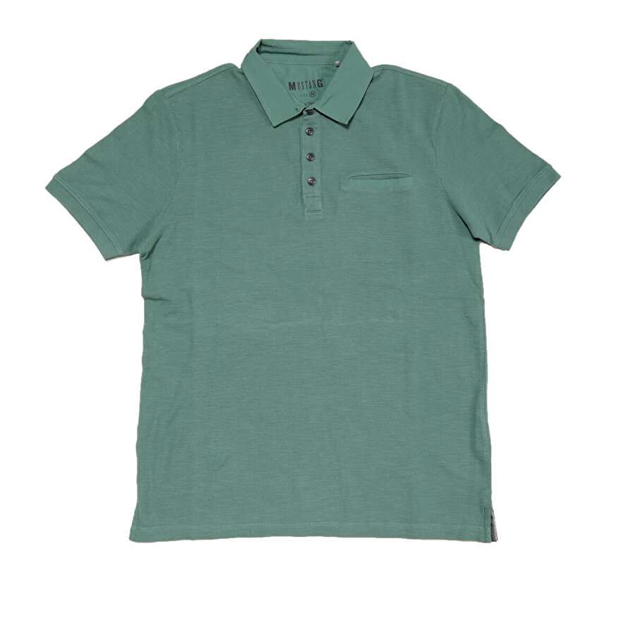 Mustang 04-M00185-655 Yeşil Erkek Kısa Kol T-Shirt